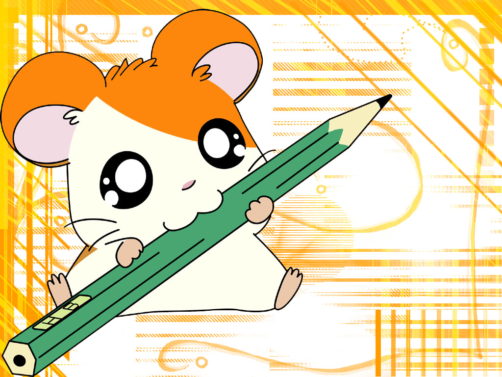 1024x768 - Hamtaro Background 33