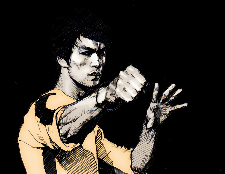 866x671 - Bruce Lee Wallpapers 14