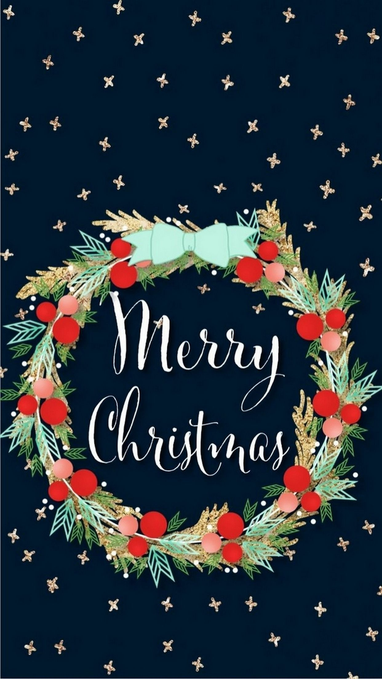 1242x2208 - Wallpaper for Christmas 3