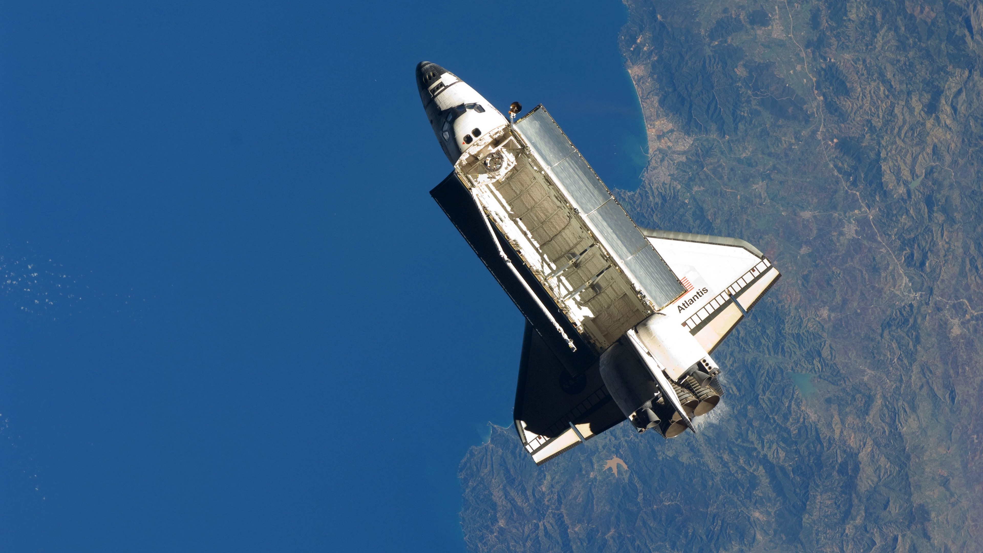 3840x2160 - Space Shuttle atlantis Wallpapers 28