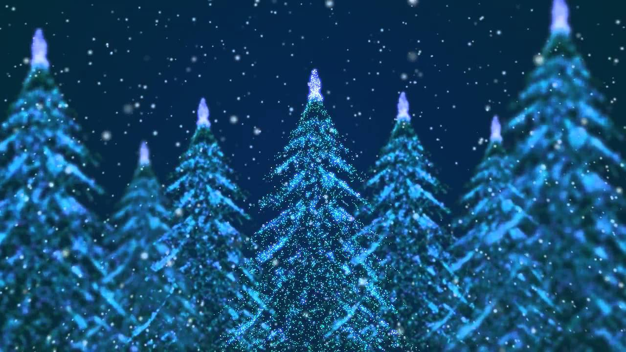 1280x720 - Christmas Trees Backgrounds 22