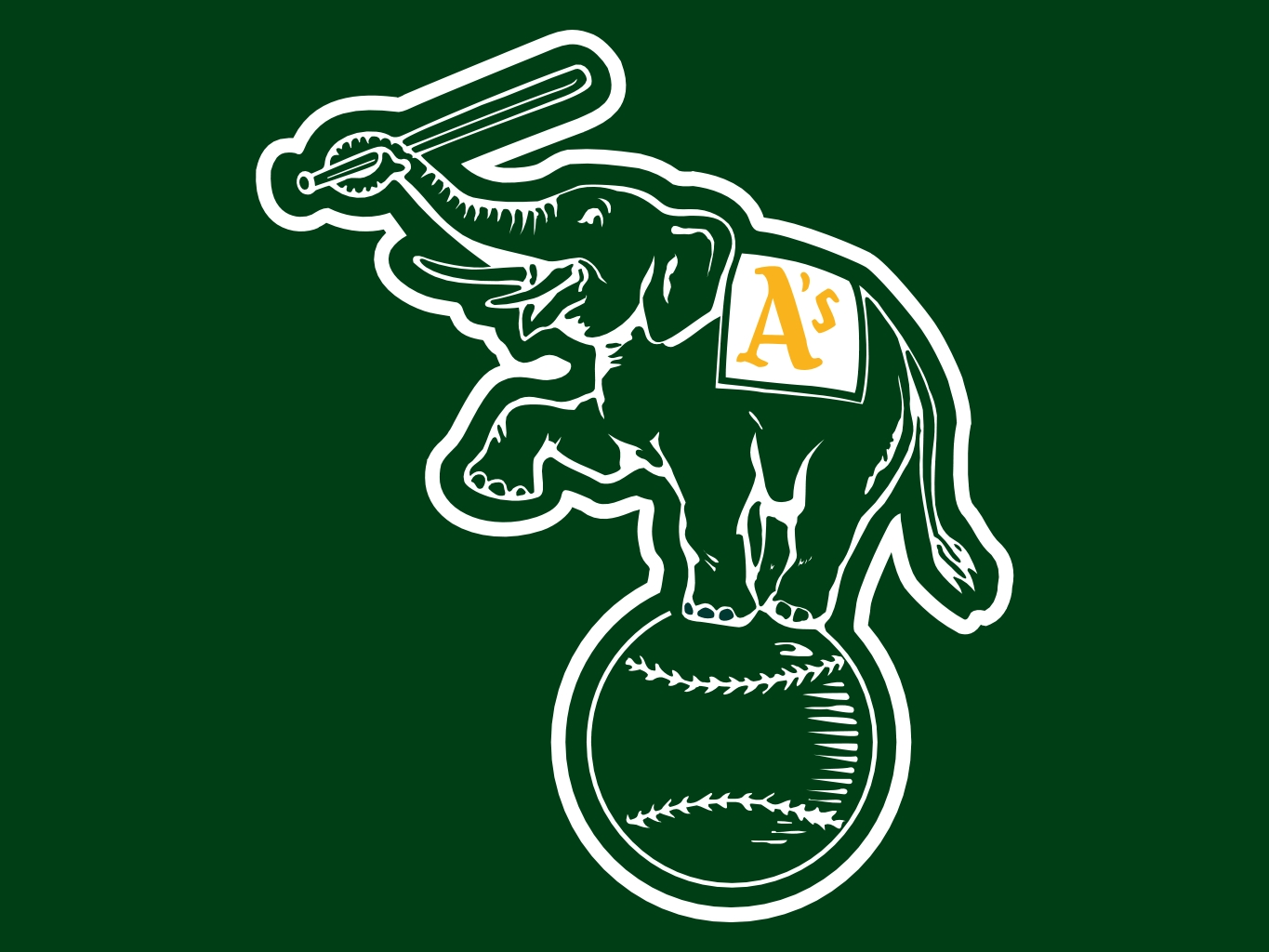 1365x1024 - Oakland Athletics Wallpapers 14