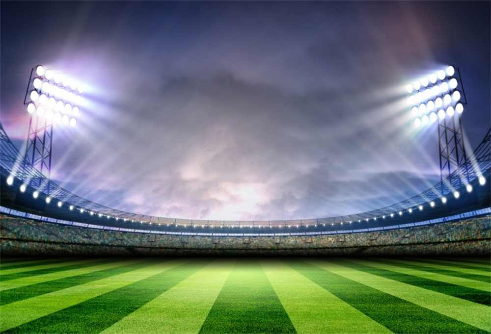 Laeacco Uk Football Soccer Field Stadium Scenic: Football Backgrounds (40 Images)