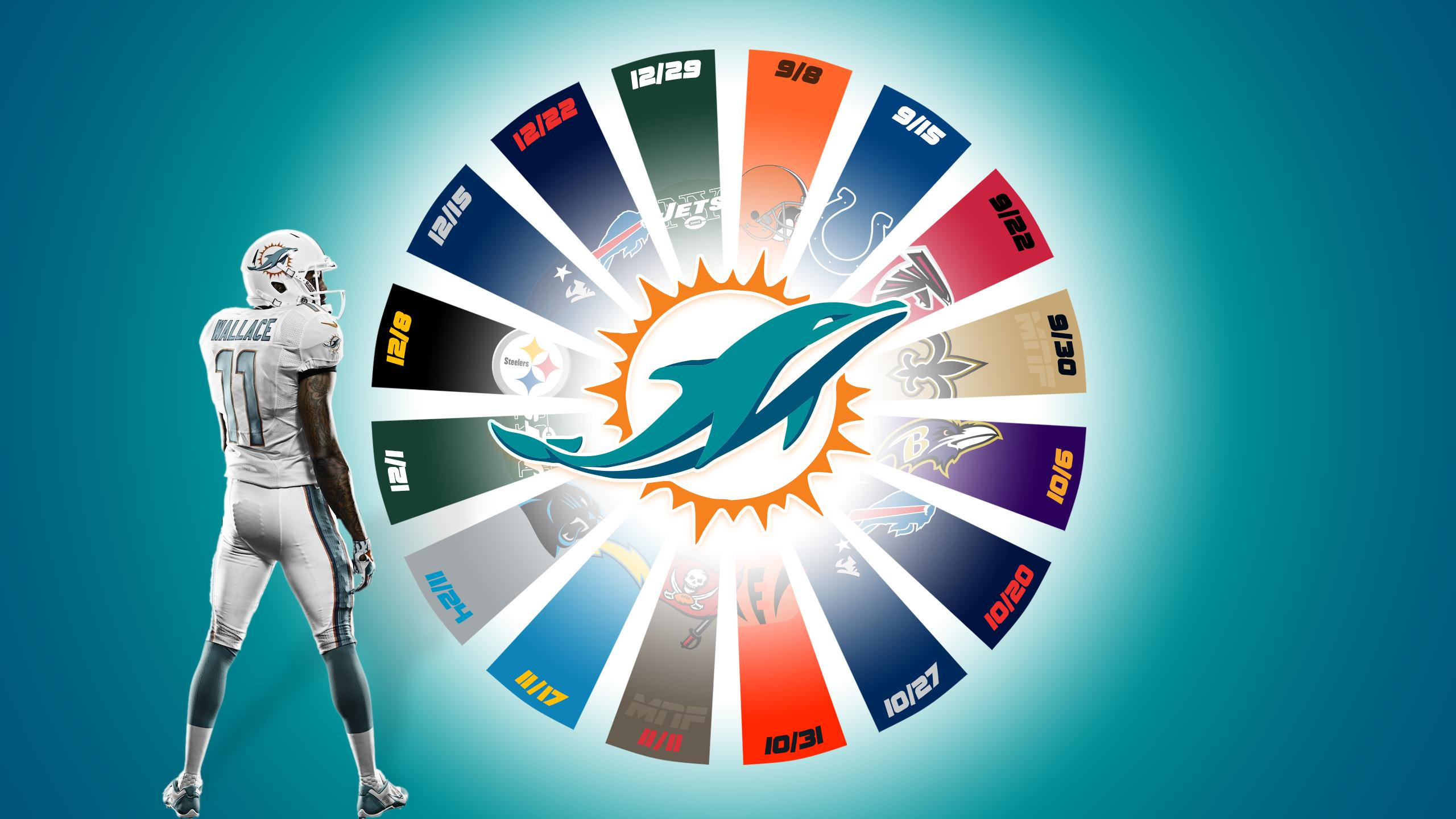 2560x1440 - Miami Dolphins Wallpapers 8