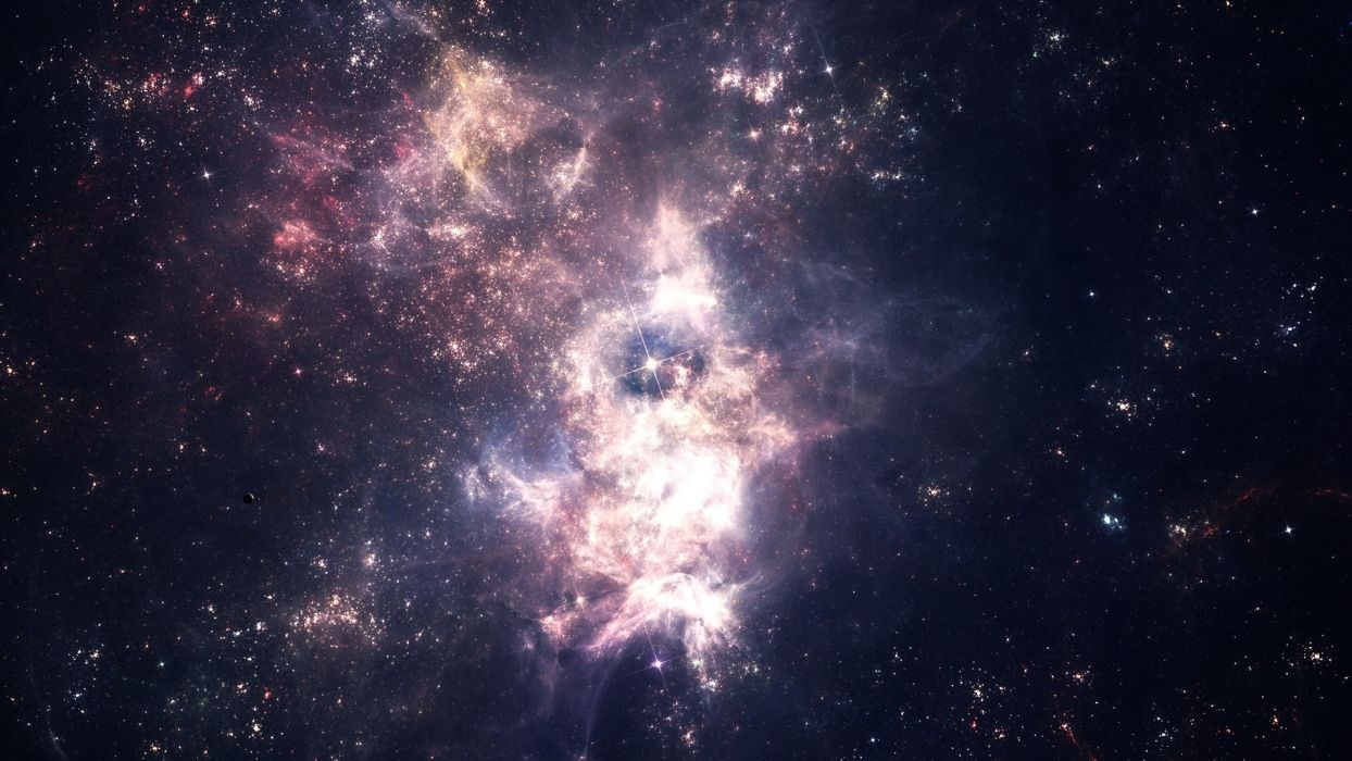 1244x700 - Star Cluster Wallpapers 34