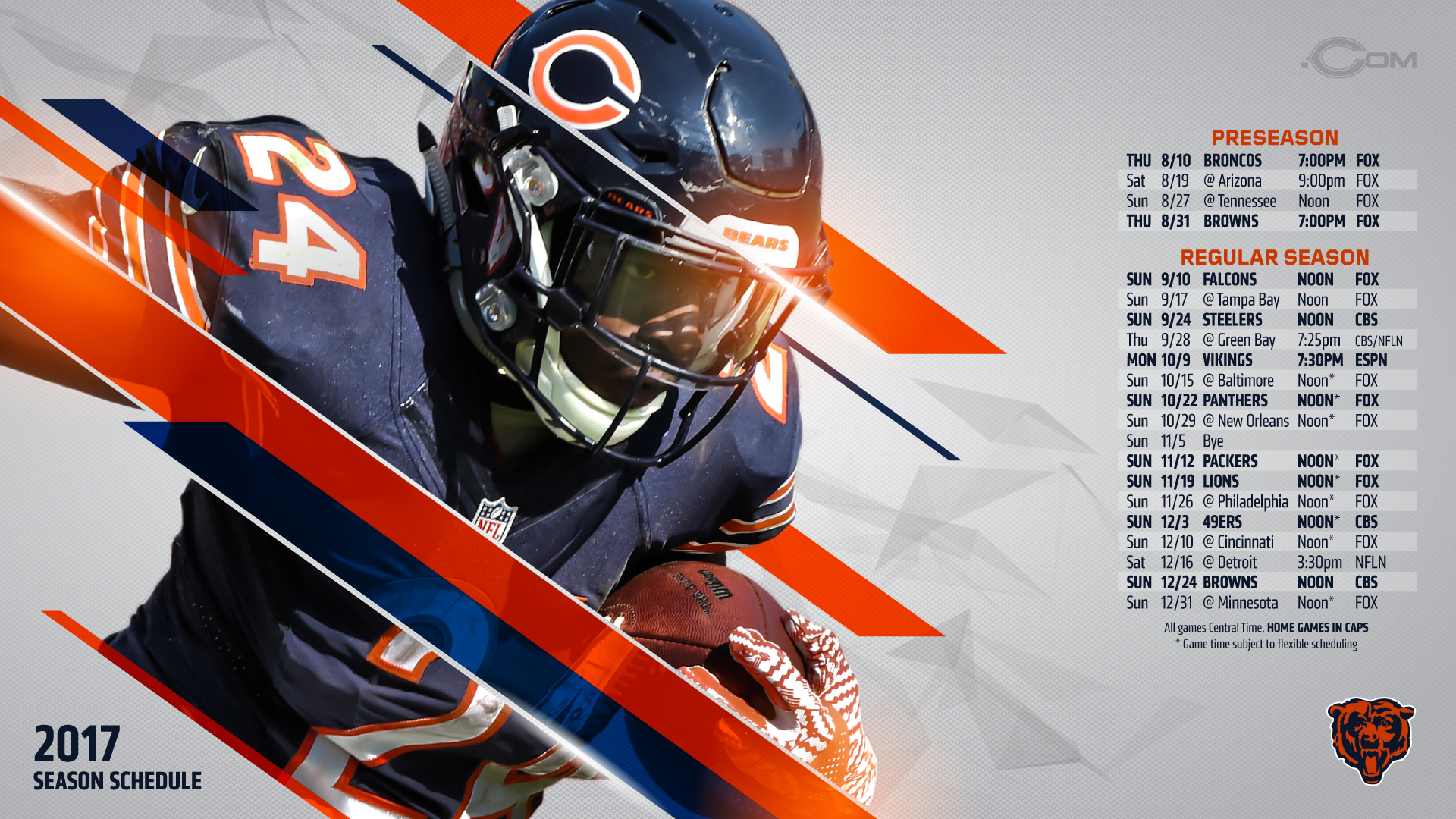 1920x1080 - Chicago Bears Wallpapers 18