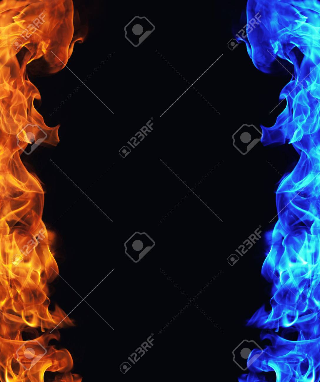 1088x1300 - Red and Blue Fire 32