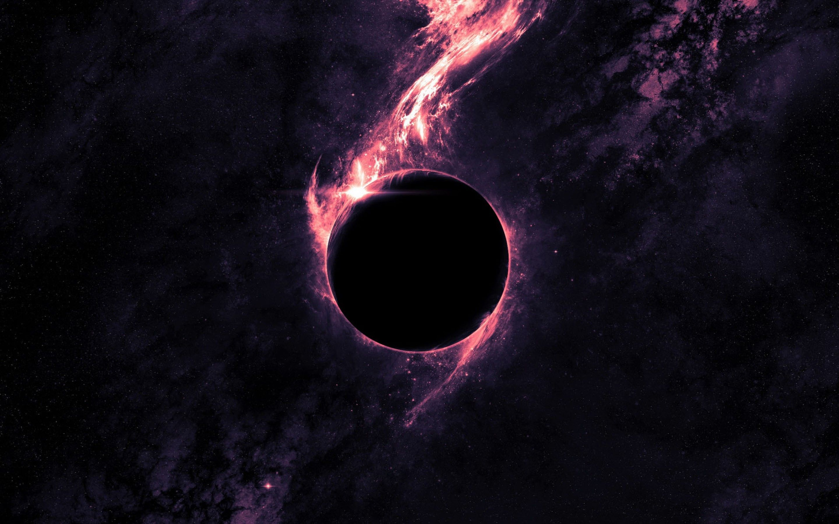 2880x1800 - Black Hole Wallpapers 1