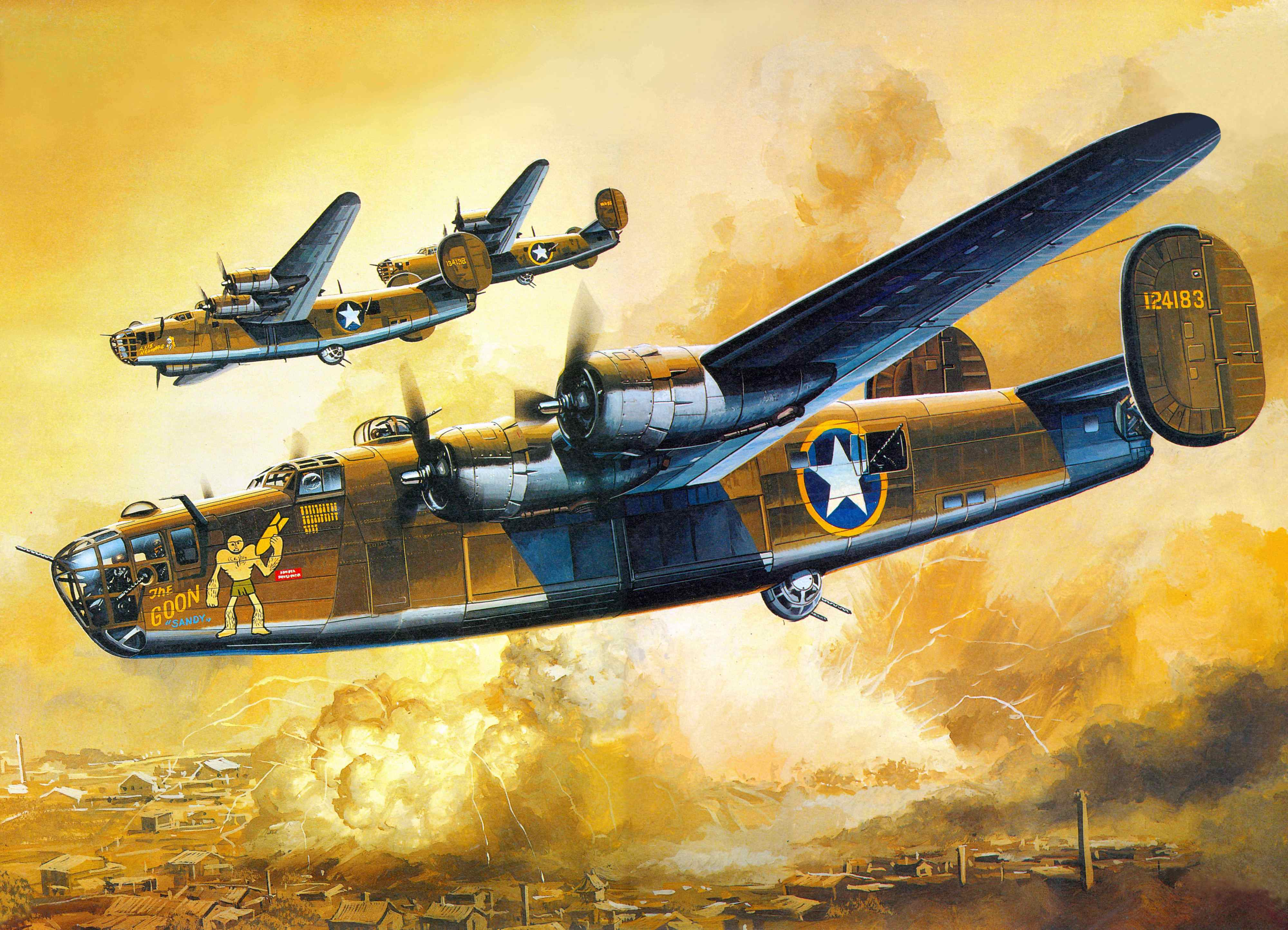 4000x2888 - Consolidated B-24 Liberator Wallpapers 6