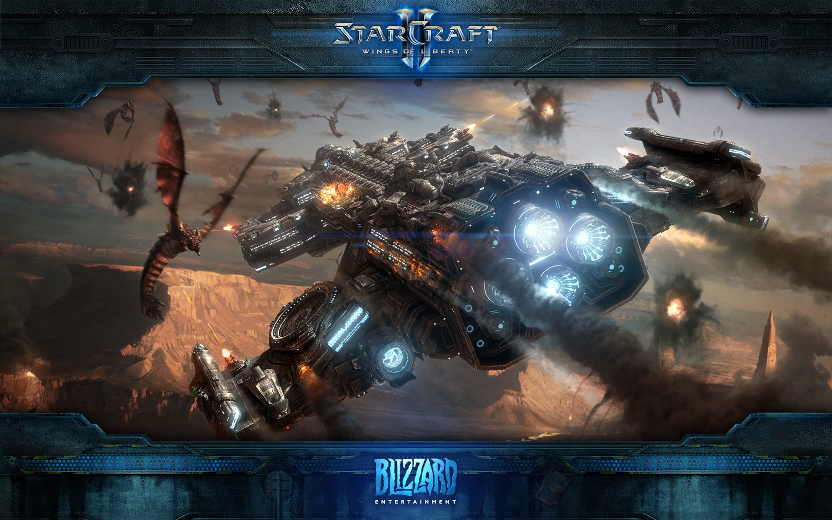 1680x1050 - Starcraft II: Wings Of Liberty HD Wallpapers 1