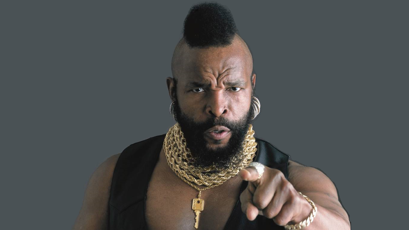 1366x768 - Mr. T Wallpapers 13