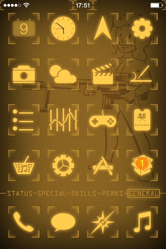 640x960 - Fallout iPhone 6 10