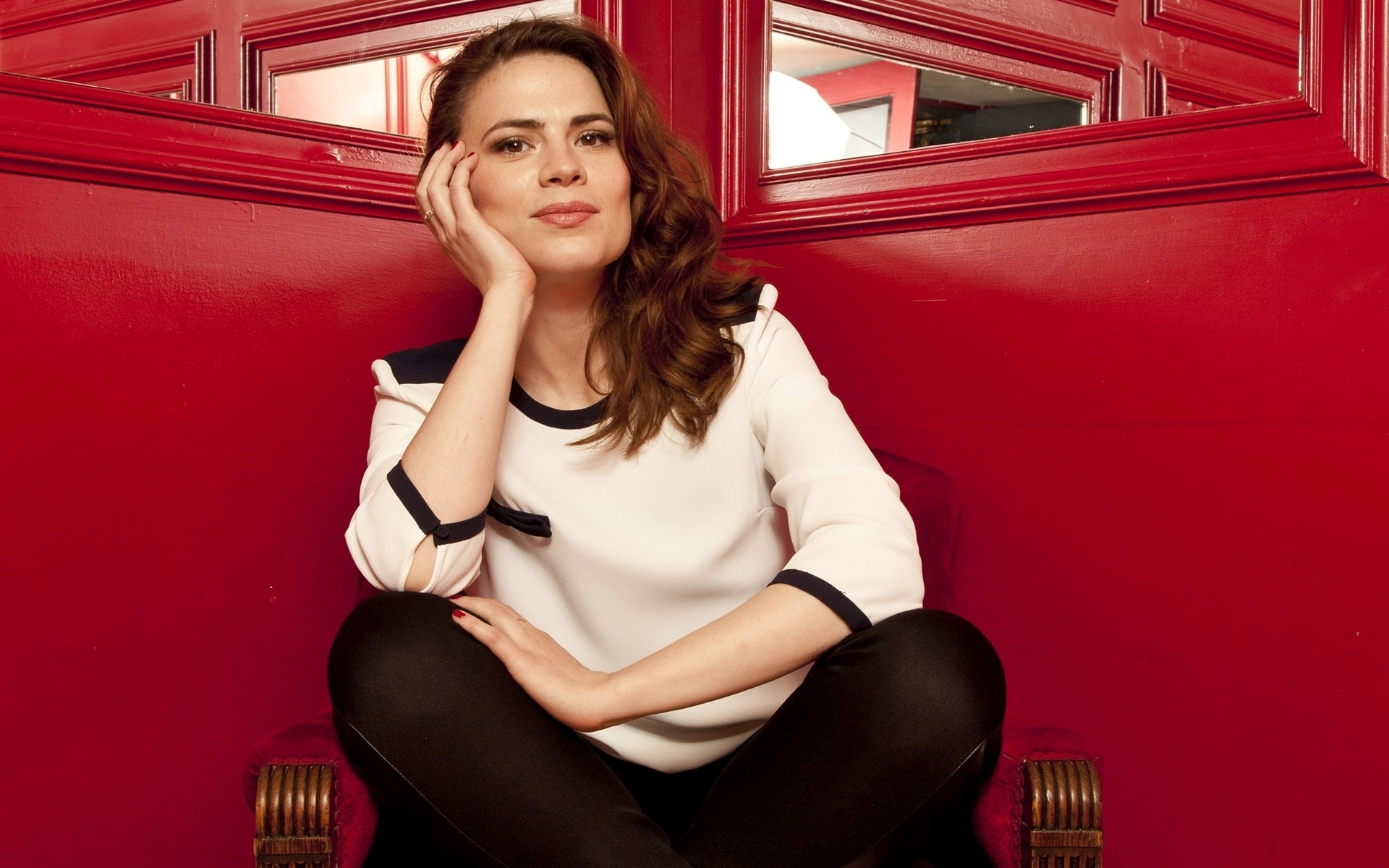 1920x1200 - Hayley Atwell Wallpapers 31