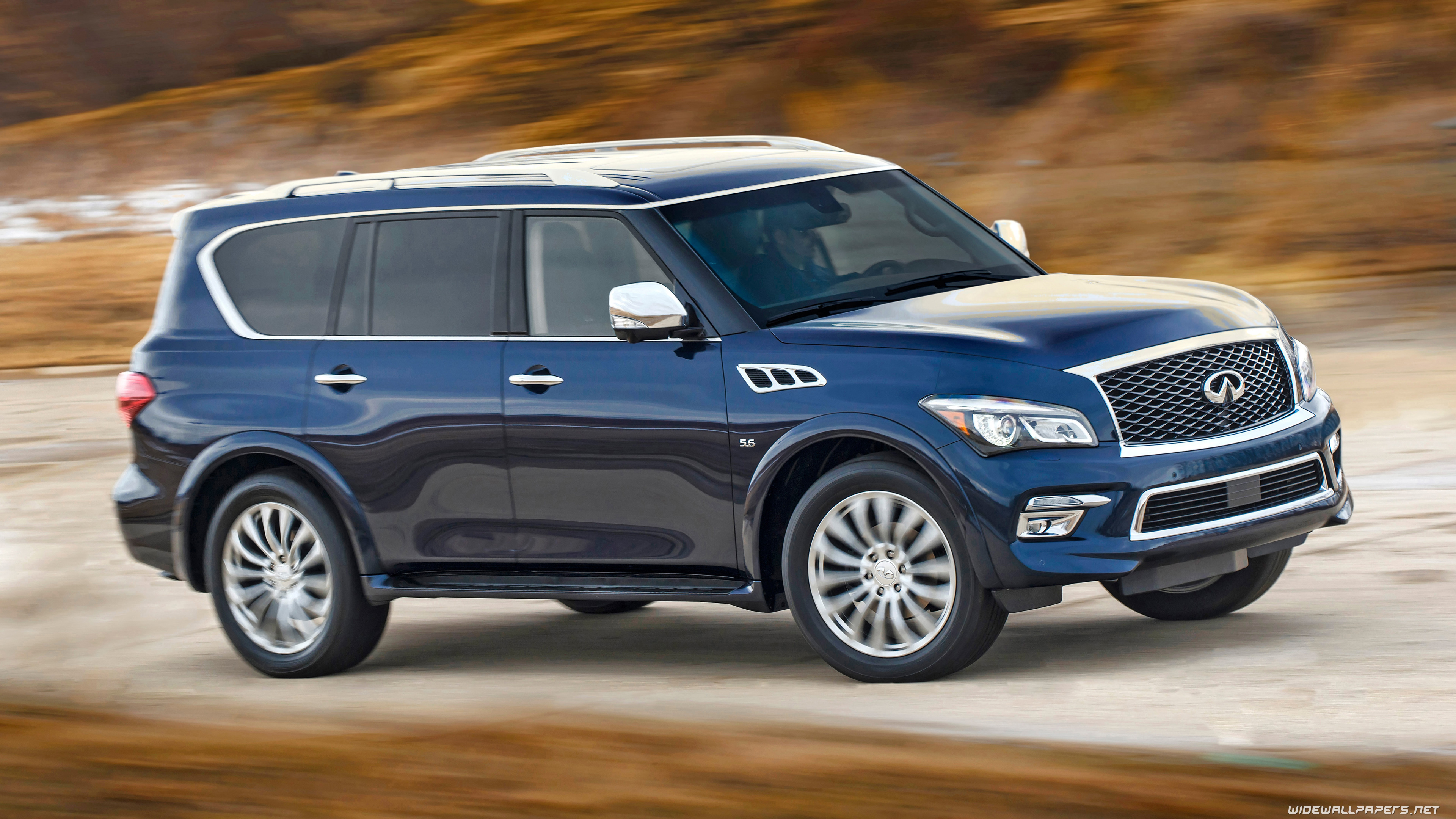3840x2160 - Infiniti QX80 Wallpapers 18