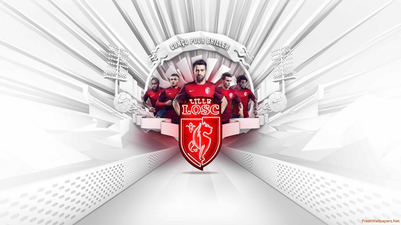 1366x768 - Lille OSC Wallpapers 8