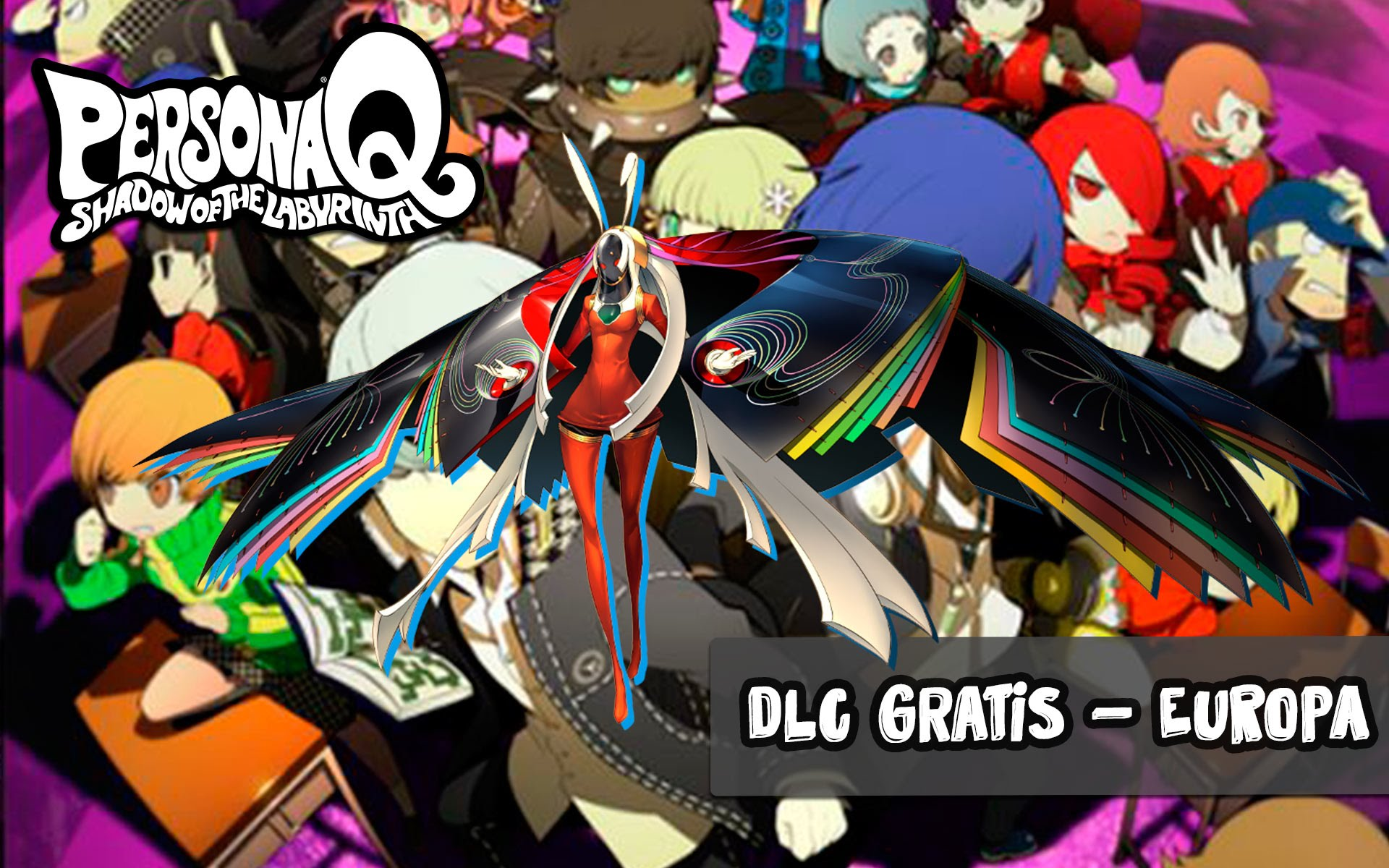 Persona Q: Shadow of the Labyrinth HD Wallpapers