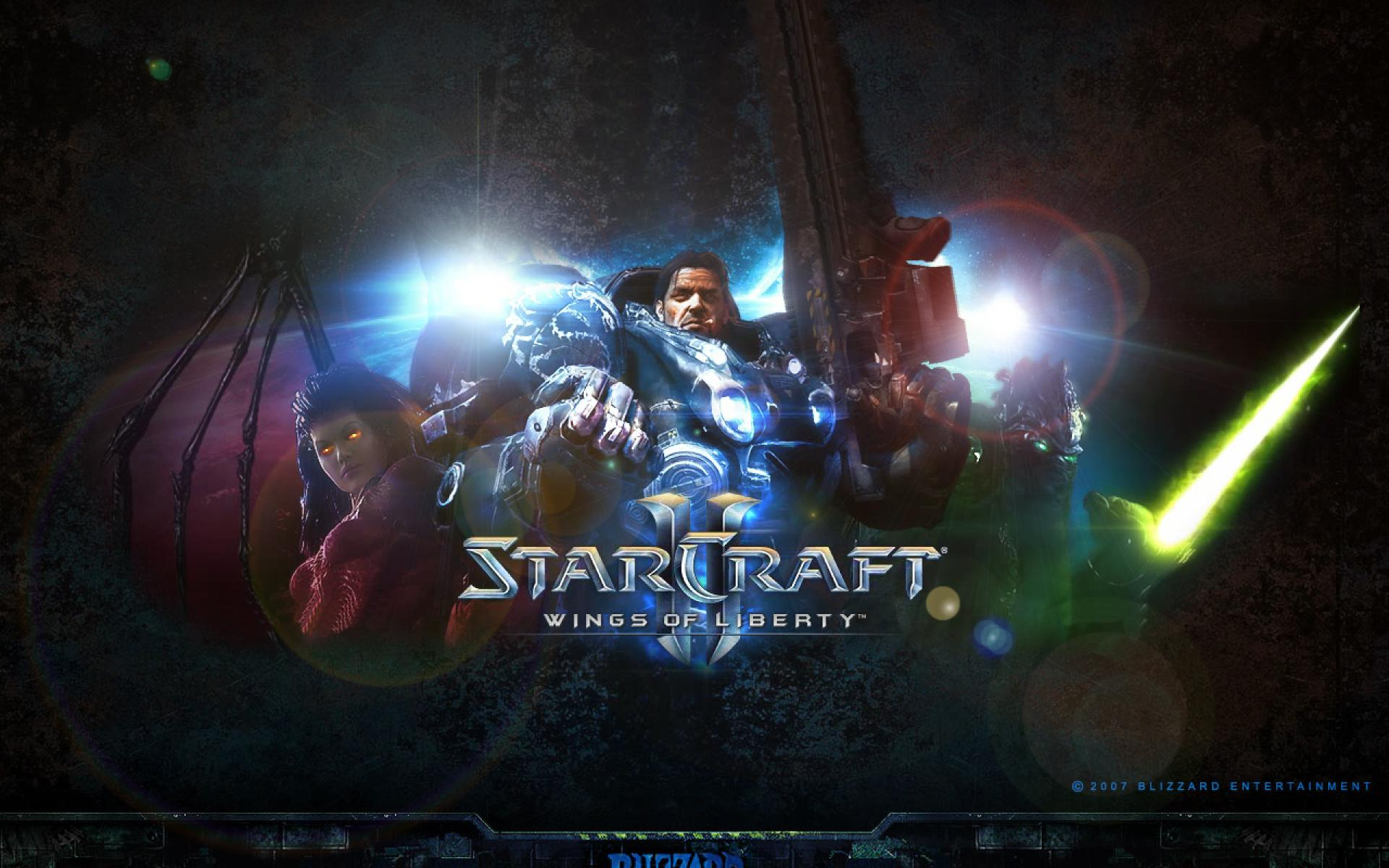 1920x1200 - Starcraft II: Wings Of Liberty HD Wallpapers 12
