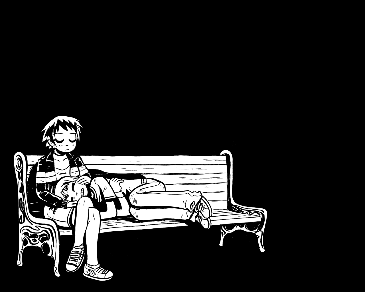 1280x1024 - Scott Pilgrim iPhone 21
