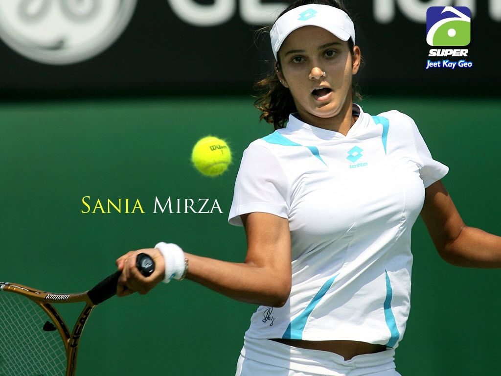 1024x768 - Sania Mirza Wallpapers 11