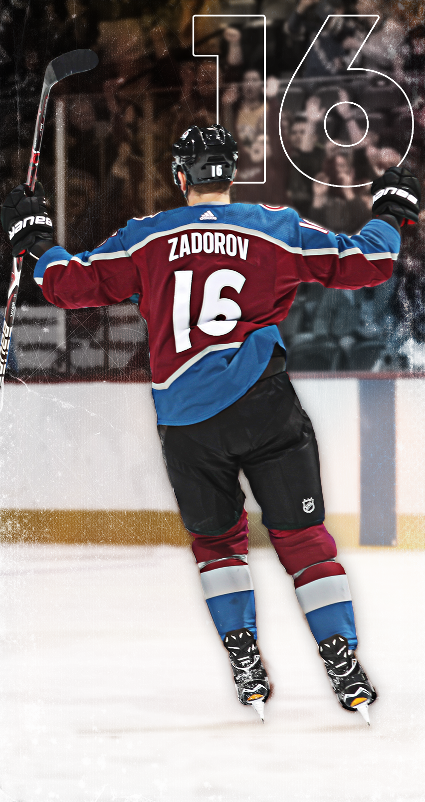 852x1608 - Colorado Avalanche Wallpapers 9