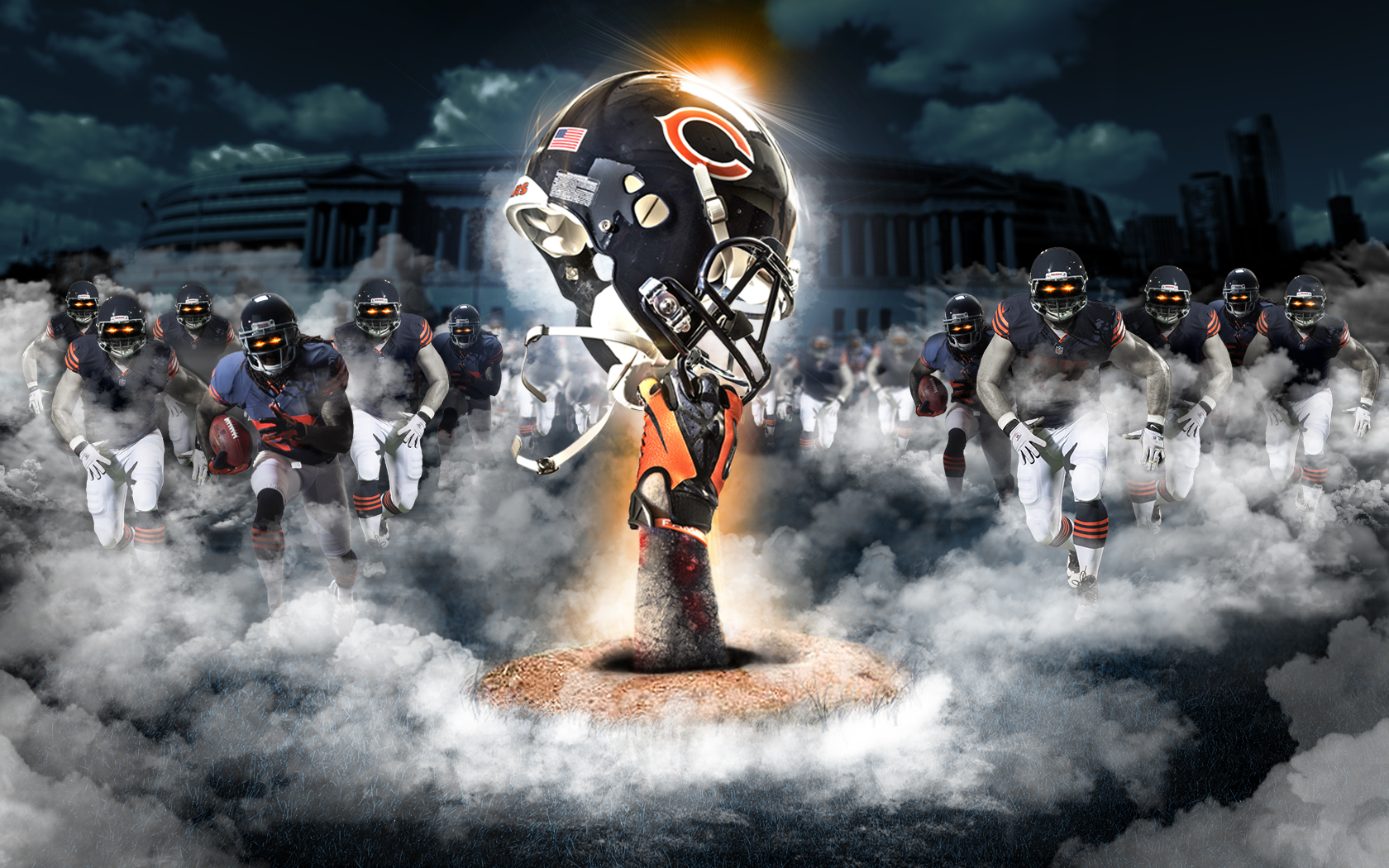 1680x1050 - Chicago Bears Wallpapers 25