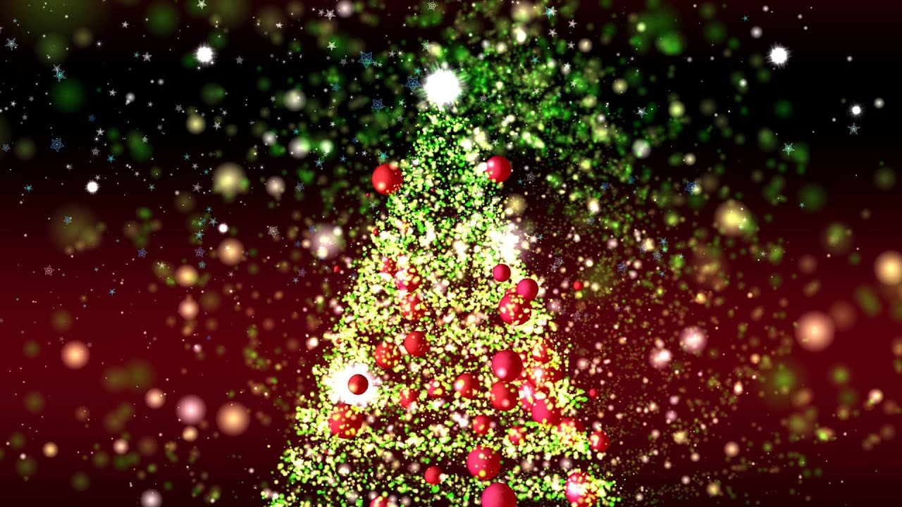 1280x720 - Christmas Trees Backgrounds 34