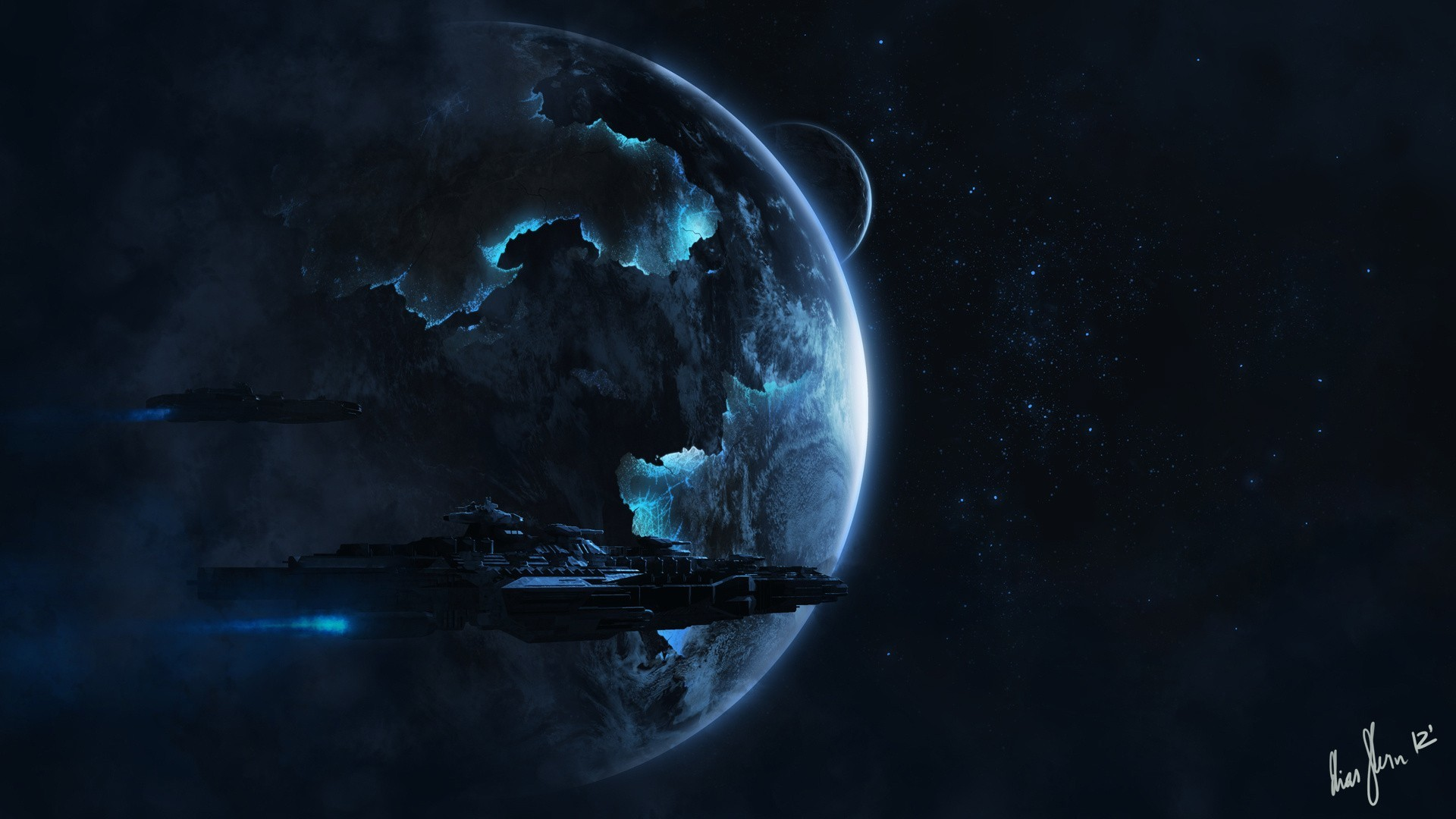 1920x1080 - Spaceship Wallpapers 12