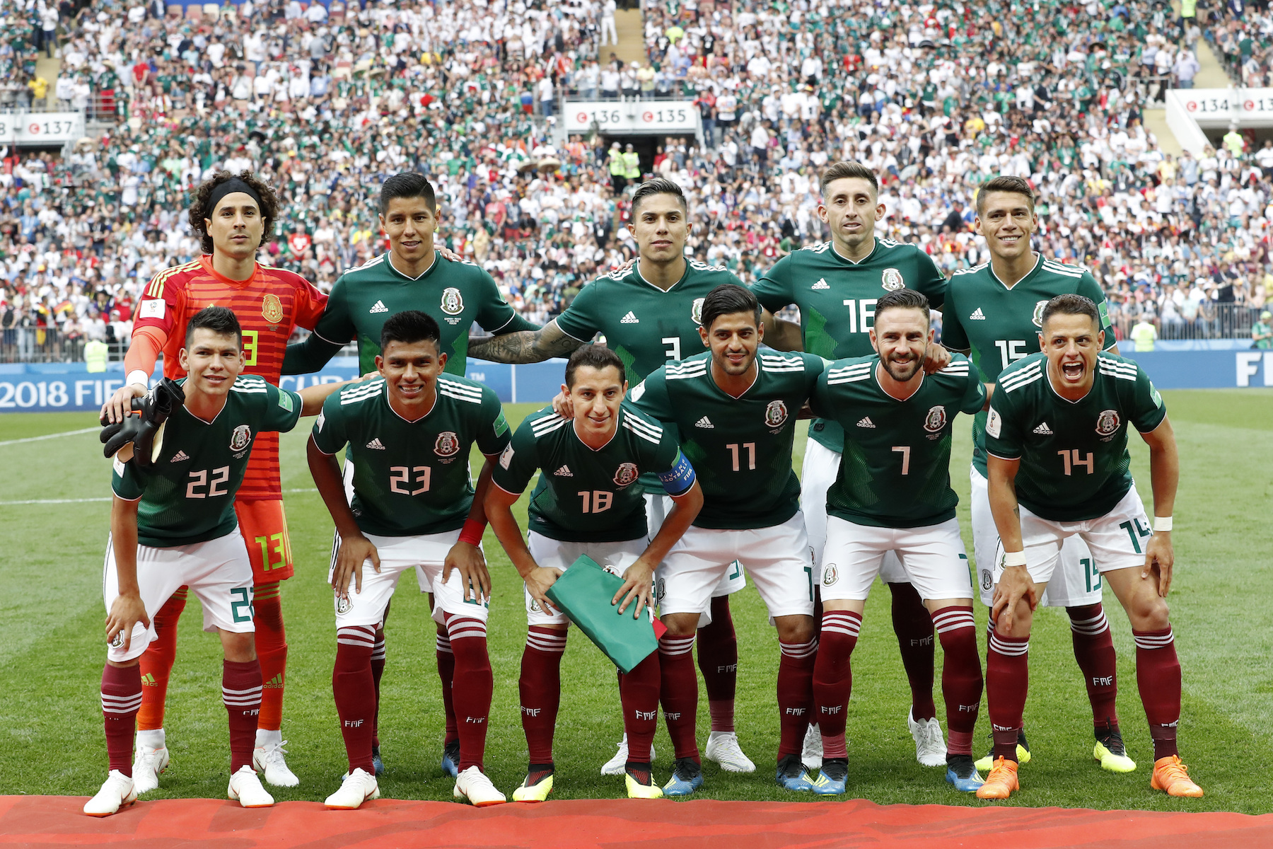 1800x1200 - Mexican Soccer Team 2018 9