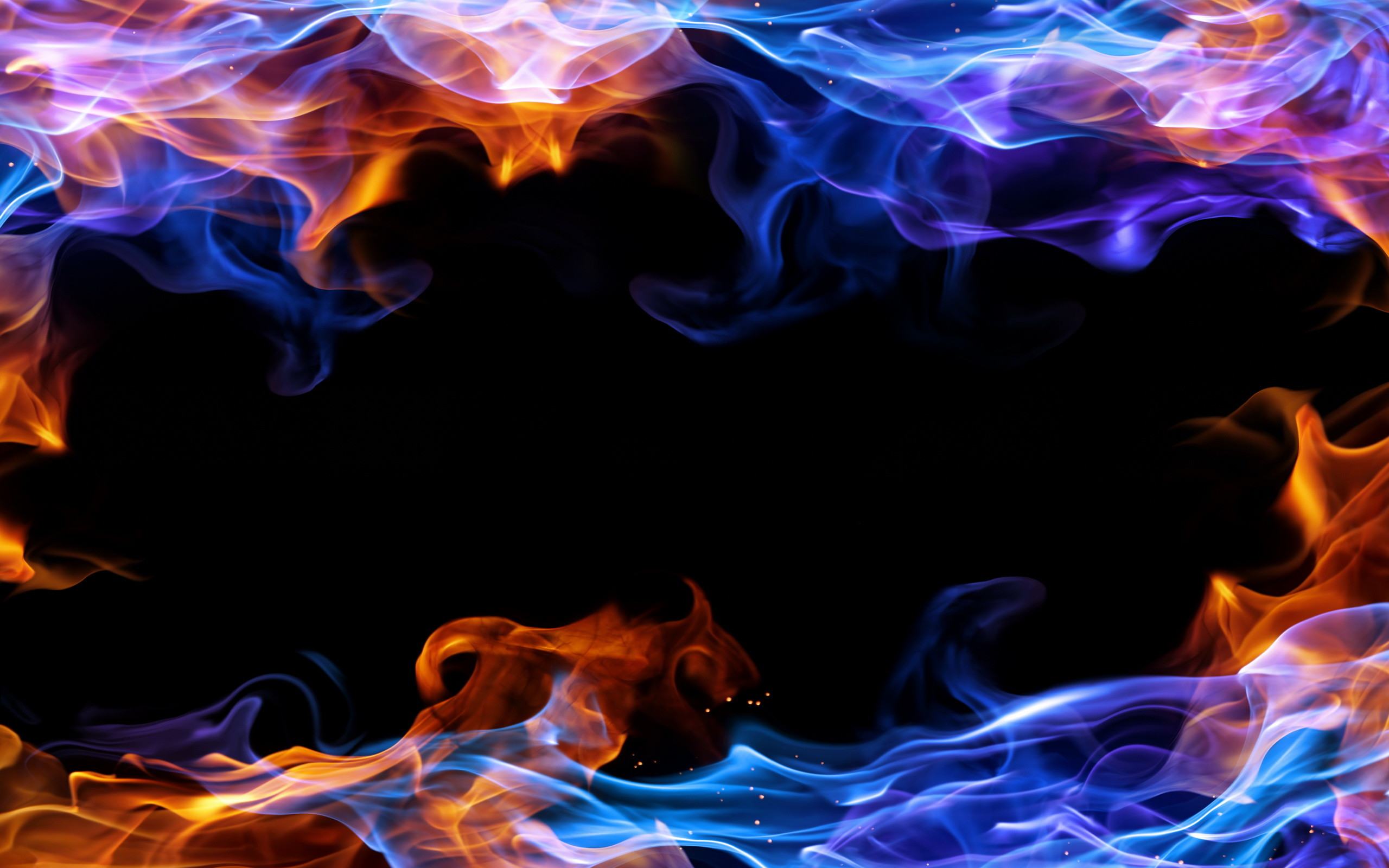 2560x1600 - Red and Blue Fire 36
