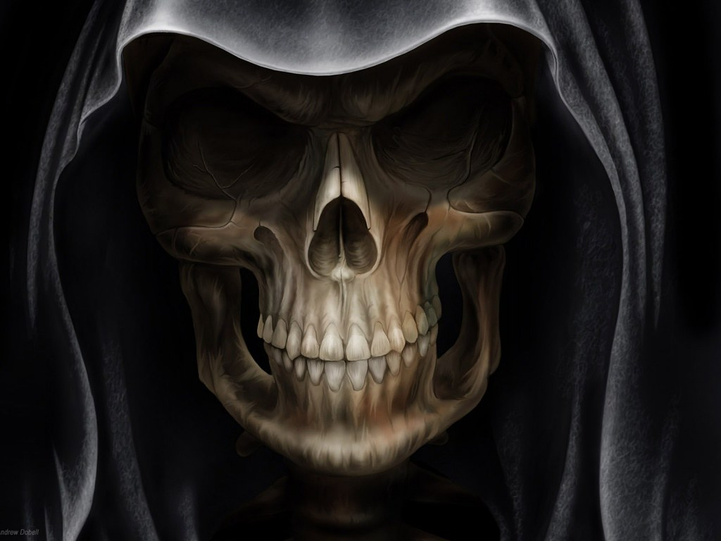 1024x768 - Scary Halloween Background 44