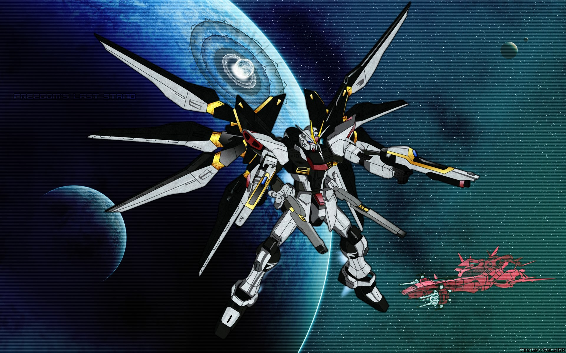 1920x1200 - Mobile Suit Gundam Seed Destiny Wallpapers 20