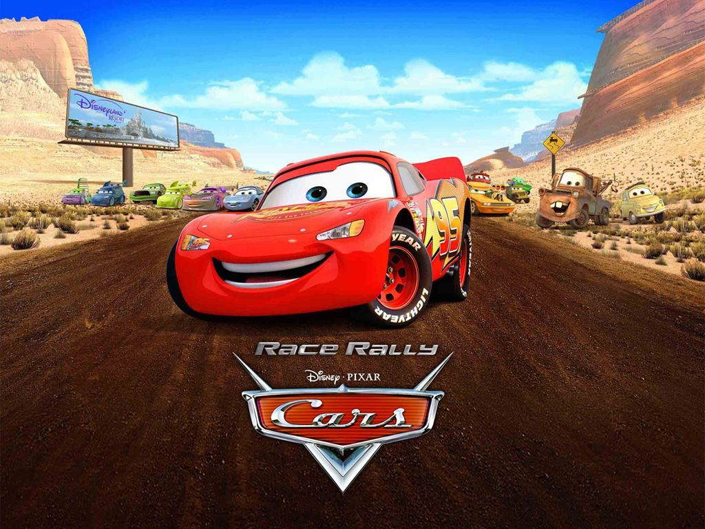 1024x768 - Wallpaper Cars Cartoon 46