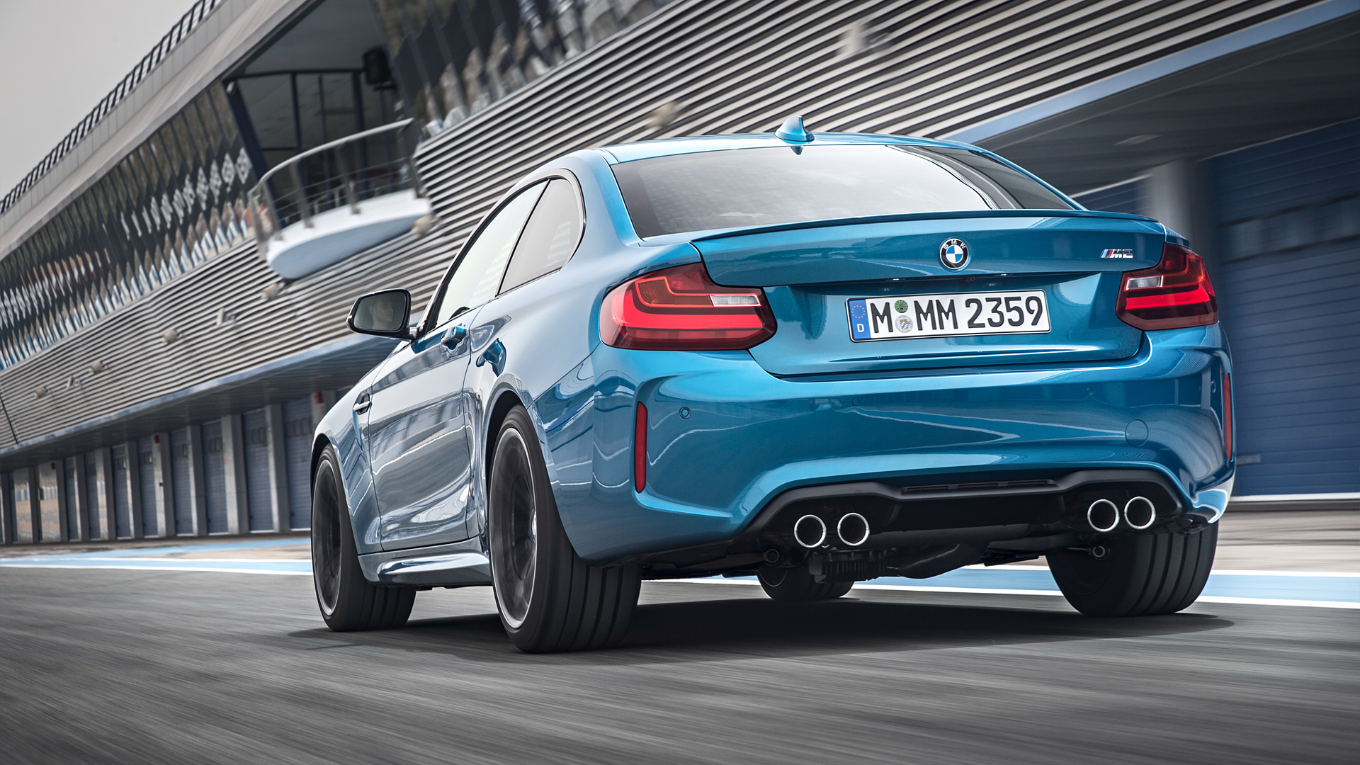 1920x1080 - BMW M2 Coupe Wallpapers 1
