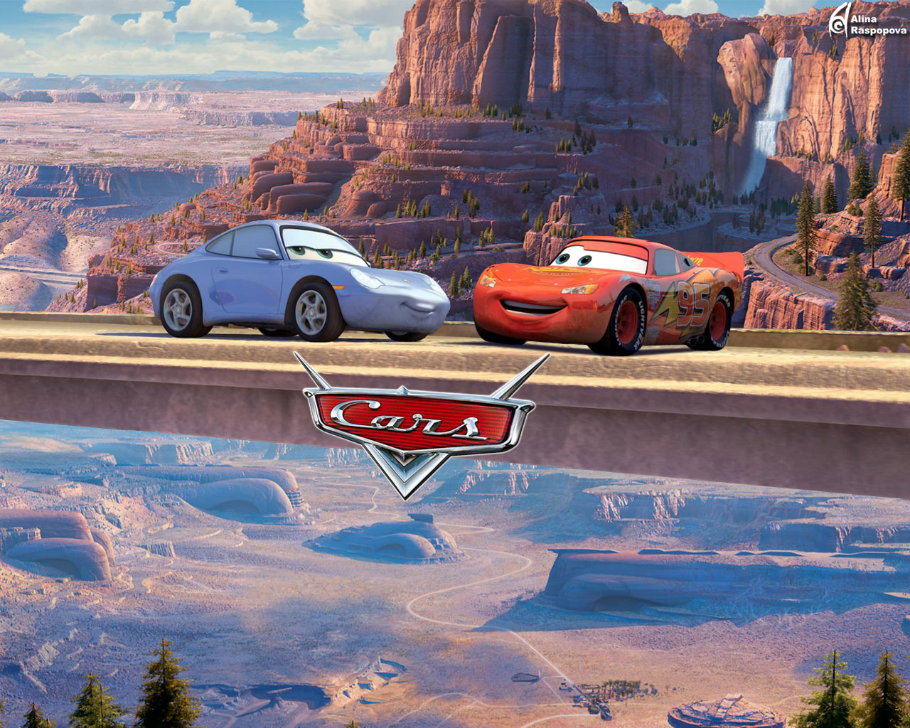 1280x1024 - Wallpaper Cars Cartoon 47