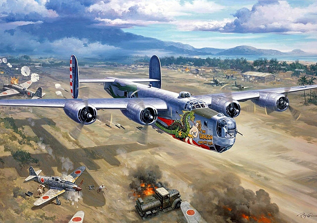 1280x900 - Consolidated B-24 Liberator Wallpapers 3