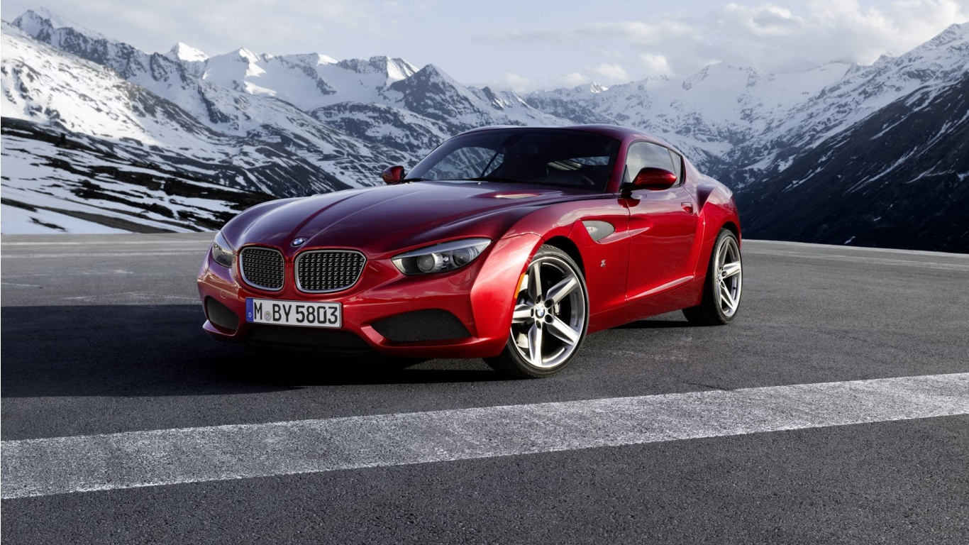 1366x768 - BMW Zagato Coupe Wallpapers 8