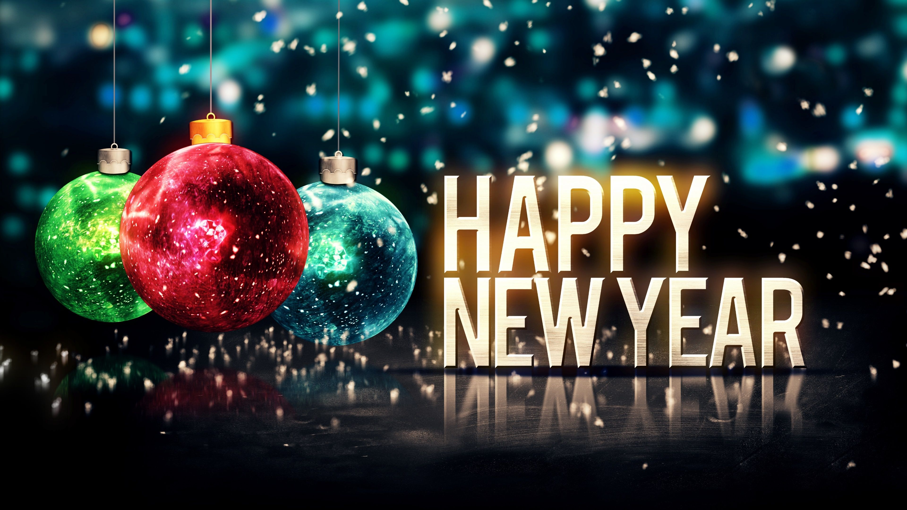 3840x2160 - Happy New Year Backgrounds 7