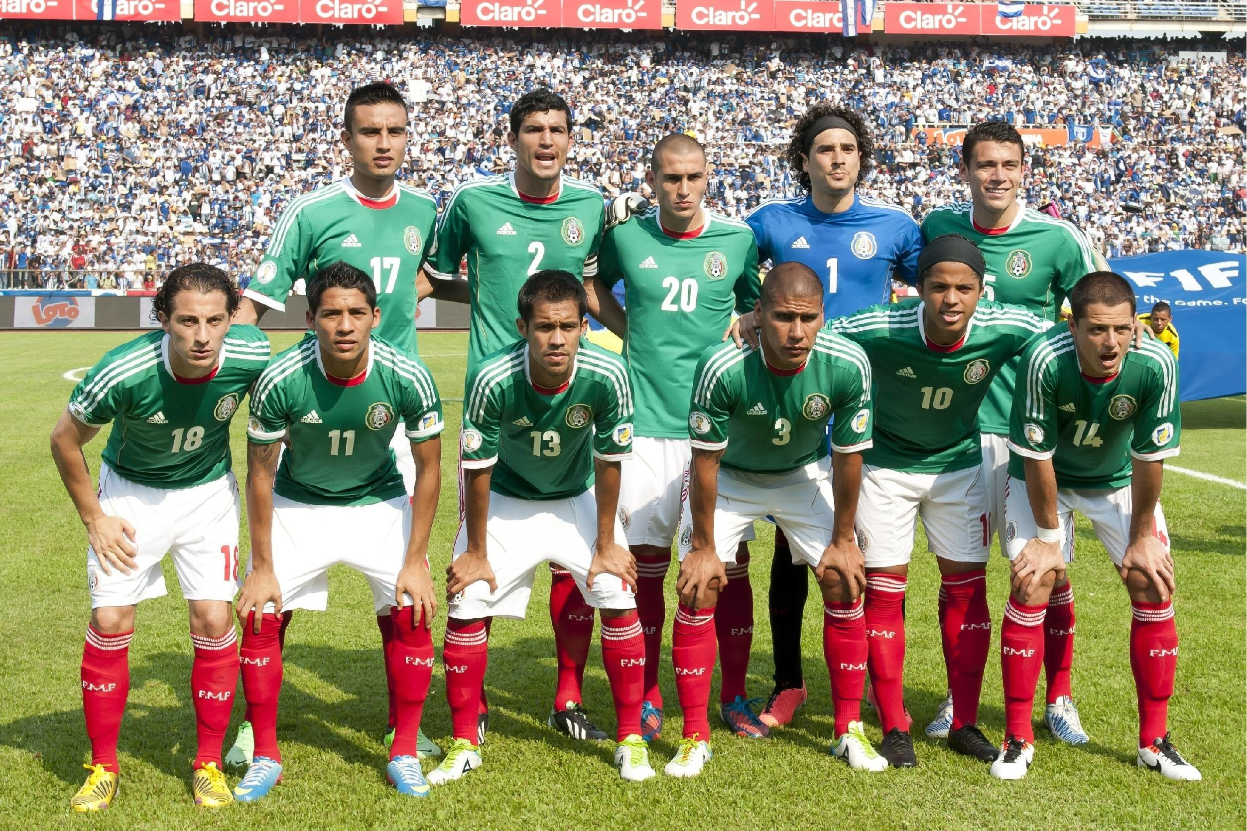 2504x1668 - Mexican Soccer Team 2018 1
