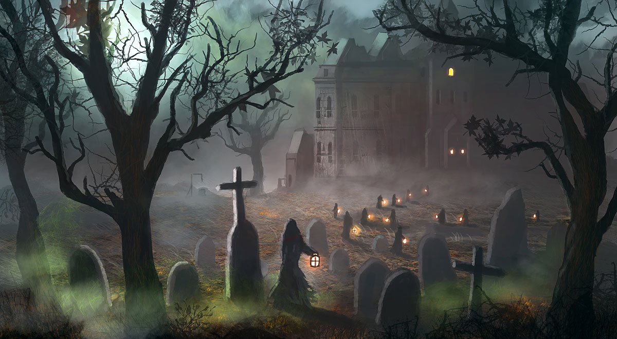 1200x660 - Scary Halloween Background 20