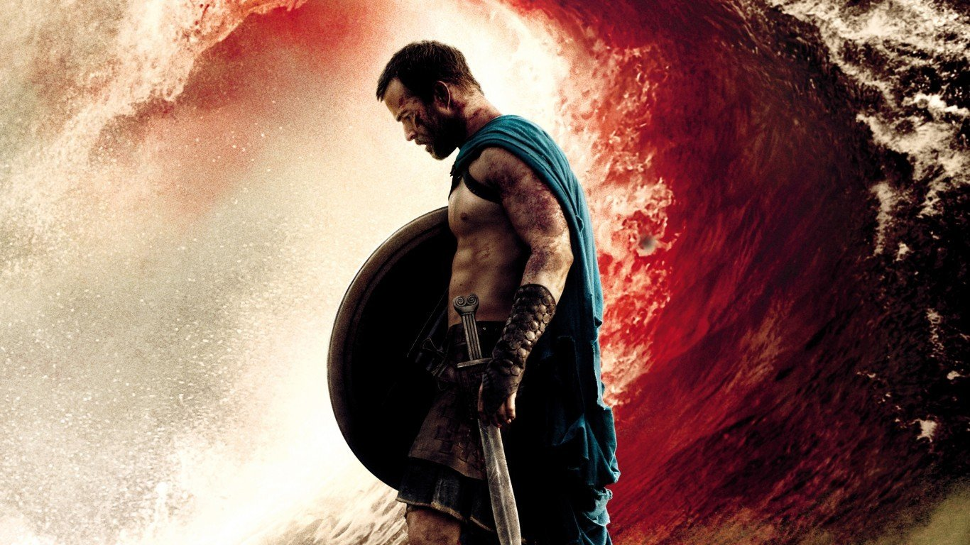 1366x768 - 300: Rise of an Empire Wallpapers 23