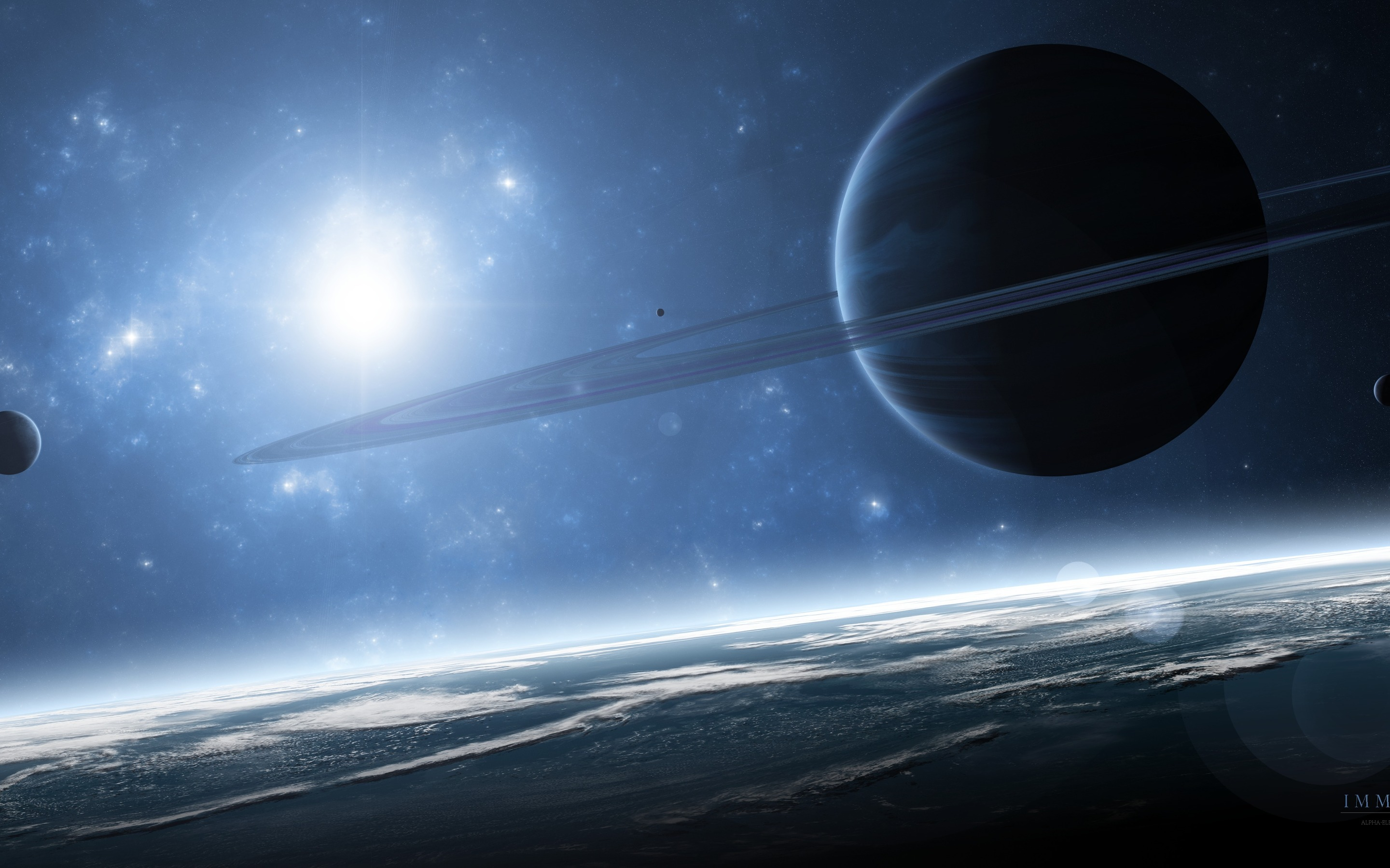 2880x1800 - Planetary Ring Wallpapers 8