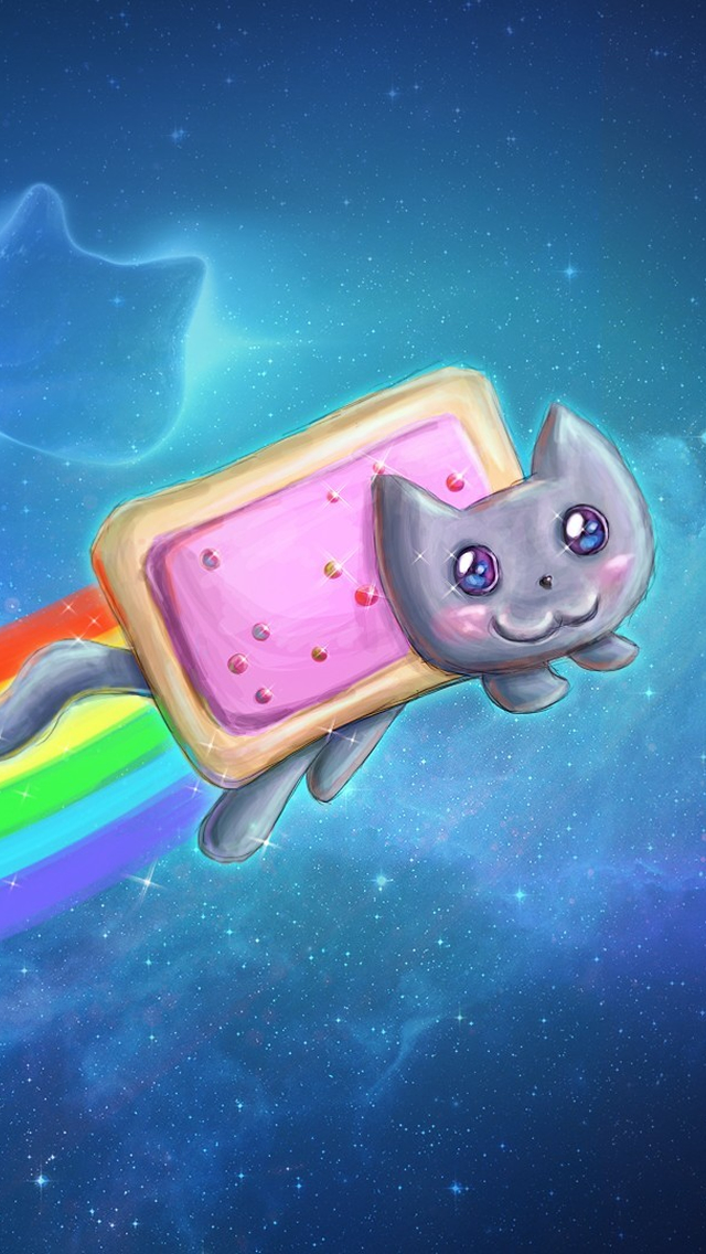 640x1136 - Nyan Cat iPhone 16