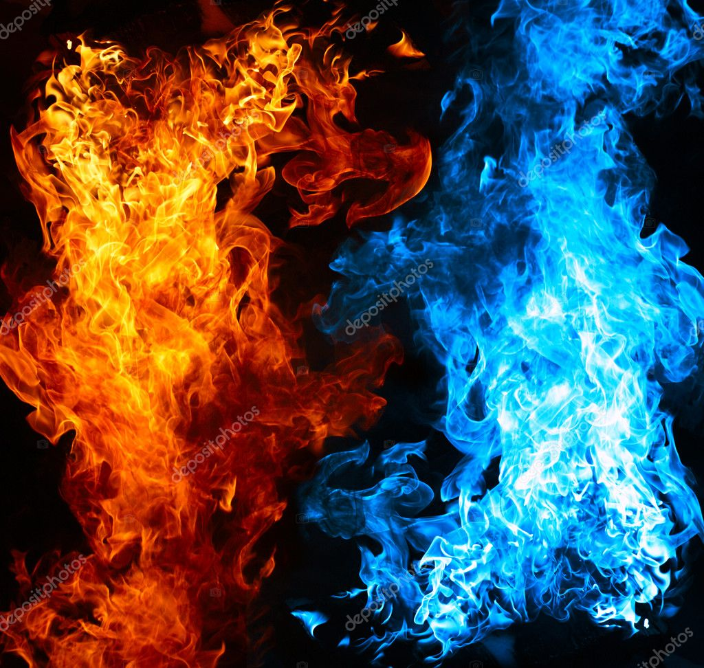 1024x972 - Red and Blue Fire 17