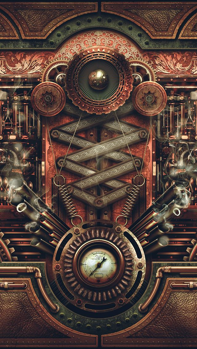 640x1136 - Steampunk Wallpapers 20