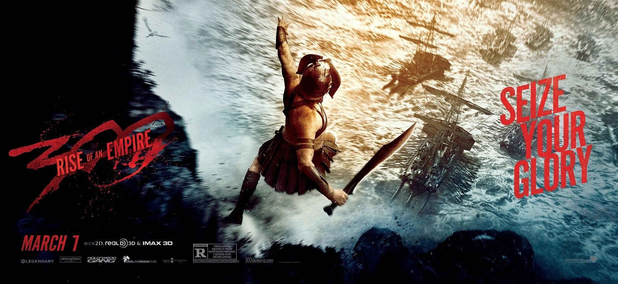 2000x920 - 300: Rise of an Empire Wallpapers 22