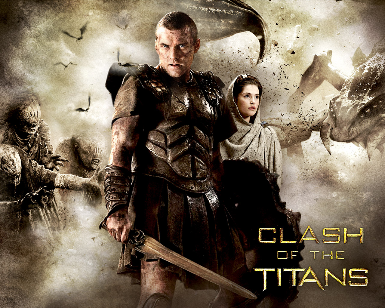 1280x1024 - Clash Of The Titans (2010) Wallpapers 10