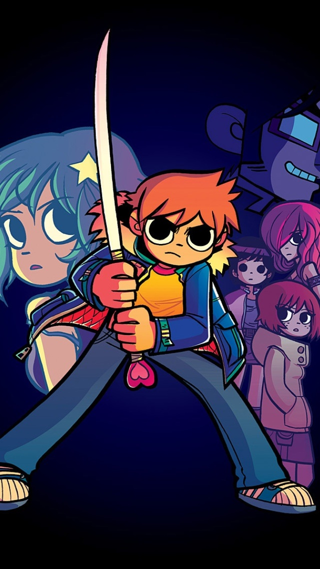 640x1136 - Scott Pilgrim iPhone 10