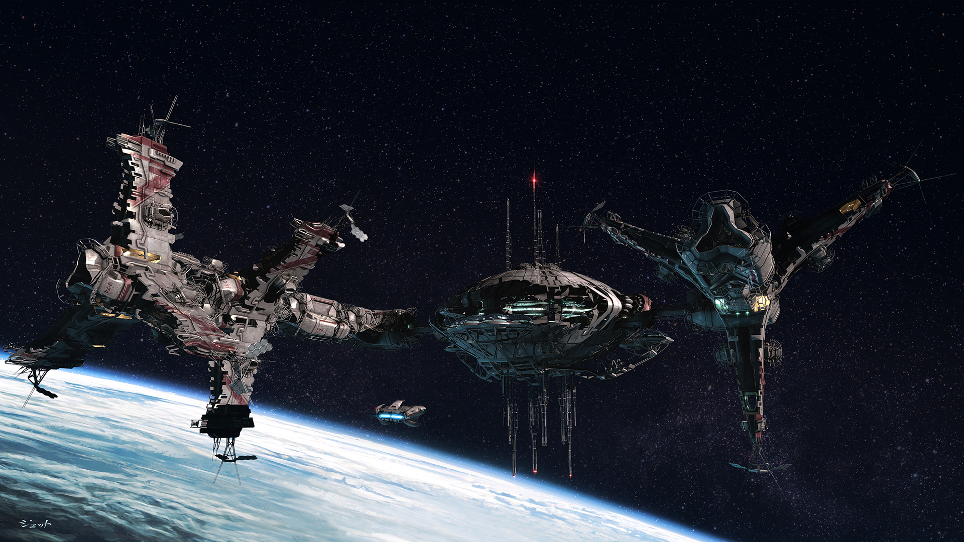 1920x1080 - Space Station Wallpapers 29