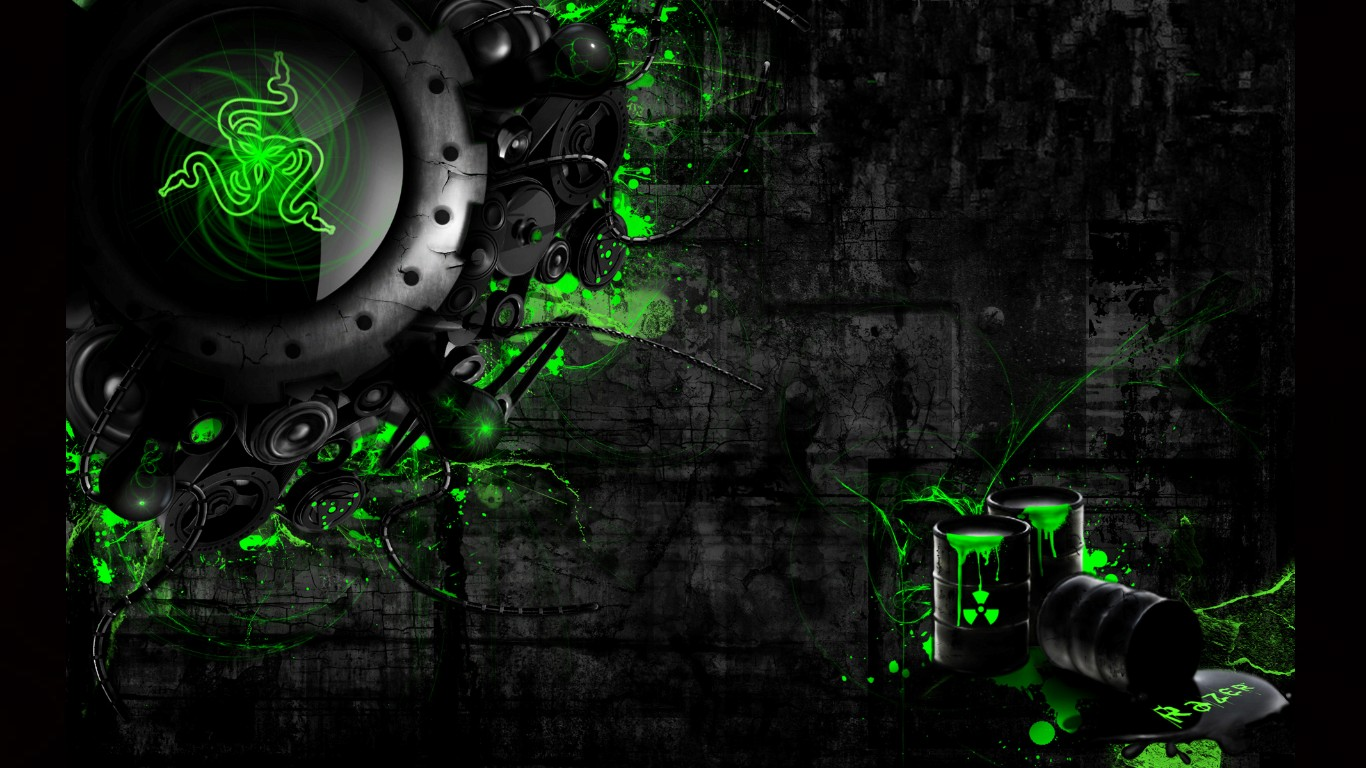 Razer Neon Green Wallpapers 36 Images Dodowallpaper