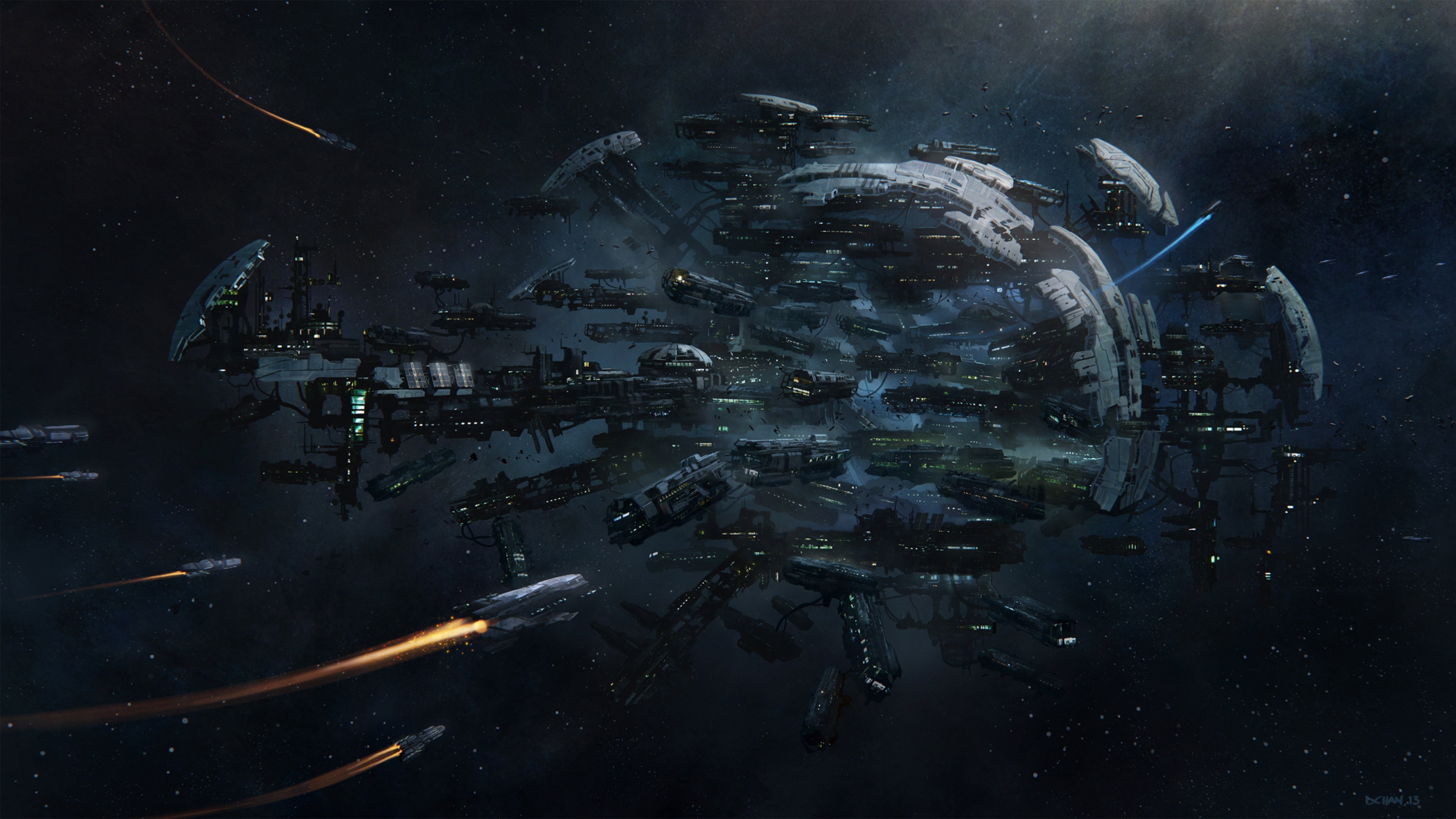 3840x2160 - Spaceship Wallpapers 25